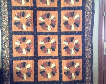 Quilt Dresden pattern