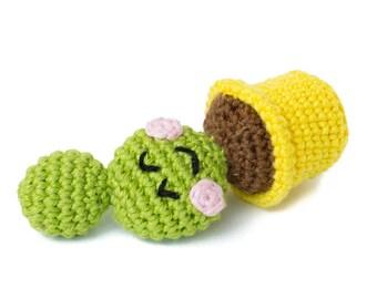 Cactus Chloe - Amigurumi Crochet pdf Pattern (EN & NL)