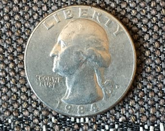1984 Washington Quarter