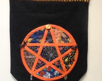 Custom made Samhain Themed Wall Hanging