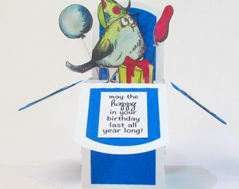 Birthday Card, Pop Up Cards, Birthday Card Friend, Birthday Card Handmade, Gift Card Holder, Pop Up Birthday Card, 3D Cards, Eco Friendly