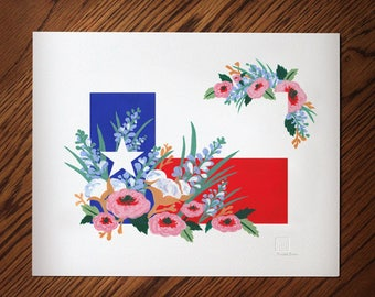 Texas Flag Art No.1