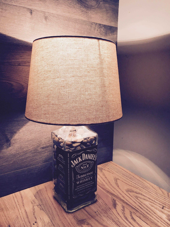 Rustic jack daniels lamp description a custom made to order jack daniels lamp arubaitofo Choice Image
