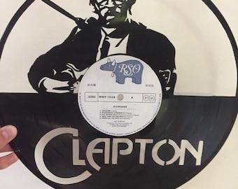 Eric Clapton Vinyl Art-Wall Decor