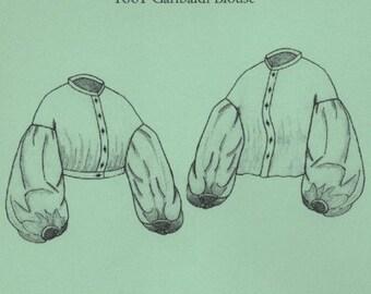 TV441 - Truly Victorian #441, 1861 Garibaldi Blouse Sewing Pattern