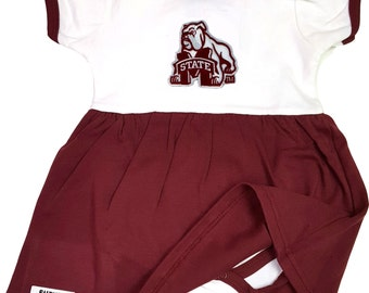Mississippi State Bulldogs Baby Bodysuit Dress