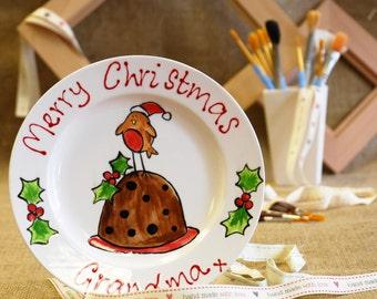 Christmas Robin Plate