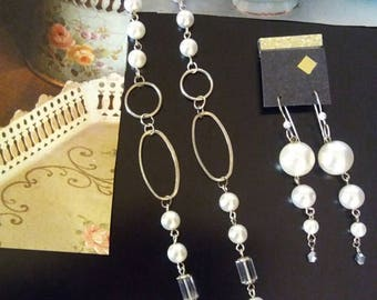 Pearl and Silver, Retro look!