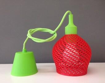 Design Strawberry lamp 3D printed