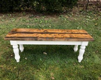 Rustic Farm, Farmhouse Bench, Farm Table Bench, Dining Room Bench, Wooden Bench, Rustic Wood Bench, Entryway Bench, Custom Bench