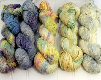 Fading Point Kit, Springtime Collection - Socklove Fingering, 4 oz