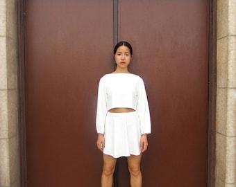 Dreamy White~ Two-Piece Set