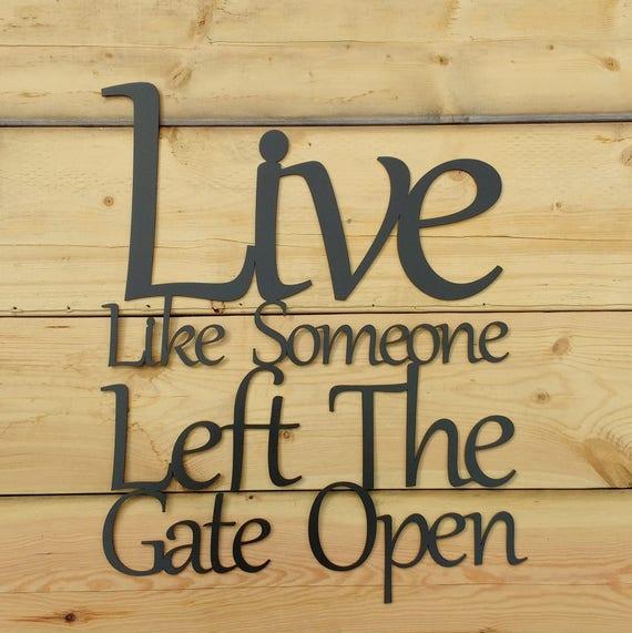 Nice Live Laugh Love Metal Wall Art Images - Wall Art Design ...