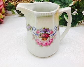 Fine porcelain creamer