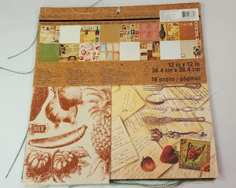 Mixed Media Collage Pad 12x12 by Recollections