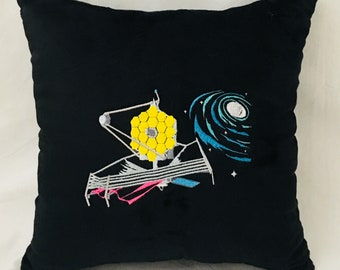 James Webb Space Telescope Ultra Soft Decorative Throw Pillow