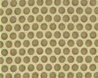 Bonnie and Camille for Moda, Bliss, Polka in Lime 55023.14 - 1 Yard Clearance