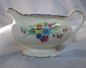 Homer Laughlin Virginia Rose Porcelain Creamer