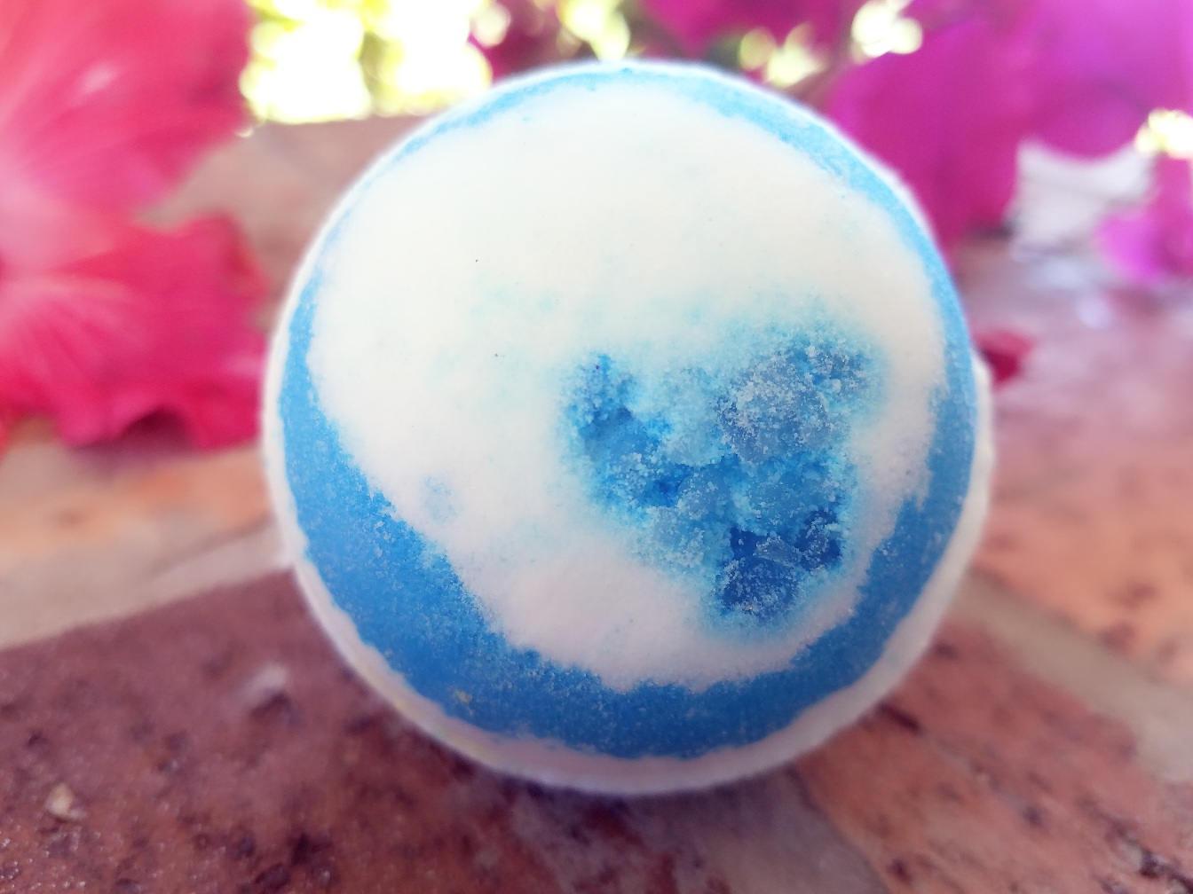 Cool Water Handmade Bath Bomb, Rejuvenate, Aromatherapy, Bath Fizzy ...