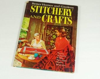 1966 Stitchery and Crafts Book - BH&G - 1960s Crafts Book