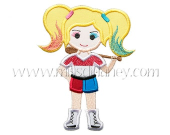 Harley Quinn Applique Design