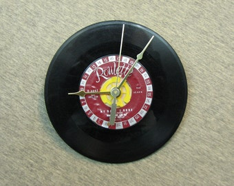 7 Inch Vinyl Record Wall Clock