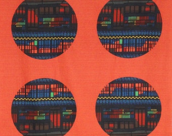 Clifton Karhu 'Night 'Kyoto Machiya' Furoshiki Japanese Fabric w/Free Insured Shipping