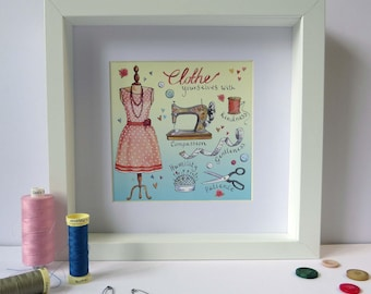 Clothe Yourself Frame, Beautiful Christian Gift!