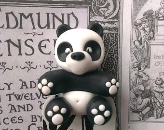 Panda bookmark, Animal bookmark, Panda, bookmark
