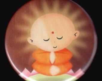 Meditating Is Fun Button