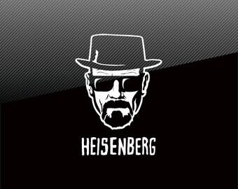 BREAKING BAD Heisenberg Vinyl Decal Sticker