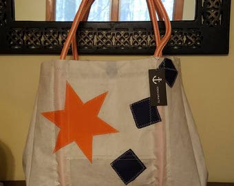 Recycled Sailcloth Tote
