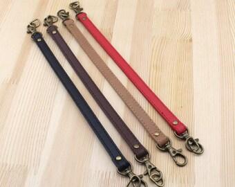 1 Pair, 1.2 cm Width, 24.5 cm Length,  PU Faux Leather Top Handle Shoulder Strap for Tote Bag Purse, D30