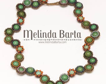 Seeds and Stones PATTERN ONLY Necklace Kit by Melinda Barta