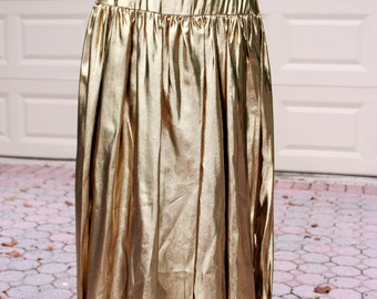 Golden Gal Metallic Skirt