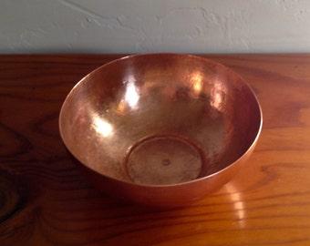 "Hammered Copper ""Zen"" Bowl"