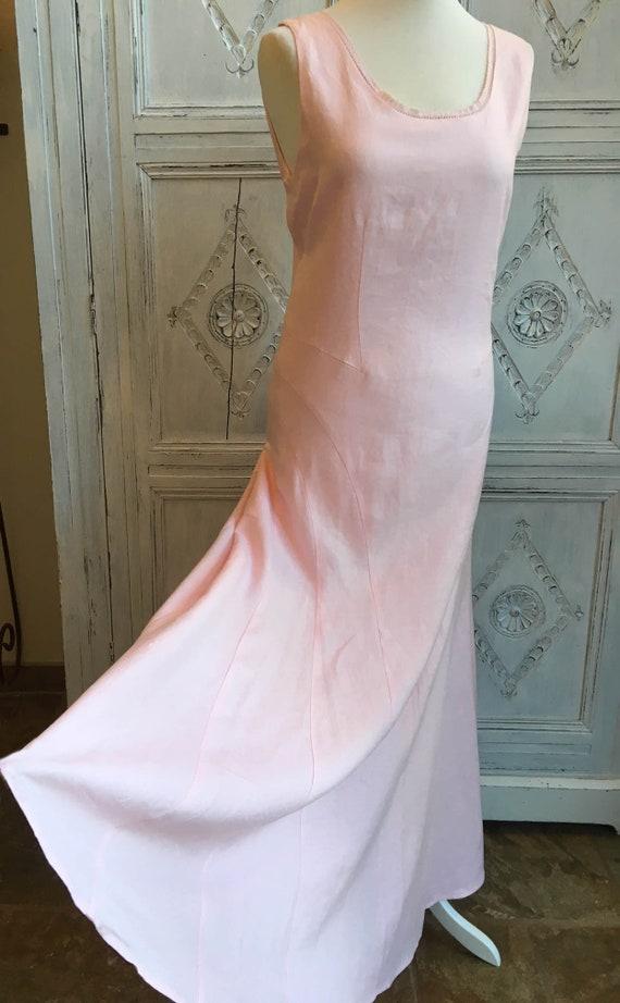 f6b91a76ca99 Laura Ashley Vintage Elegant/Occasion Summer Dress Pink BNWT