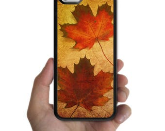iPhone X 8 8 plus case 7 7 plus 6s plus 6s 6 plus 6 SE 5s 5 5c 4s 4 cover vintage red yellow Maple leaves case for apple