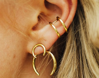 Xenia Bold – Earrings in silver, gold or gold