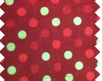 Holiday Cat Nap Hammock: Red with Polka Dots