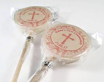 Christening Favours, Holy Communion Favours, Lollipops, Christening Gift, Photo Lollipops, Personalised, Baptism gift, Baptism Favours