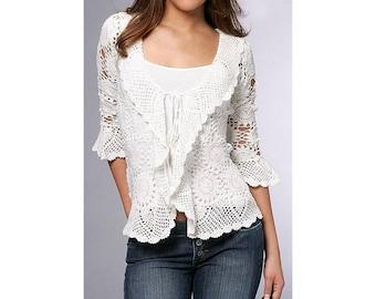 crochet bolero pattern,detailed tutorial,crochet jacket pattern,crochet boho bolero,crochet wedding bolero,crochet summer bolero pattern