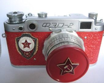 RARE RUSSIAN FED-2 soviet Leica Copy Rangefinder camera  from viktan
