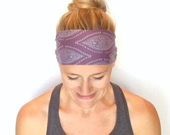 Running Headband - Workout Headband - Fitness Headband - Yoga Headband - Galveston