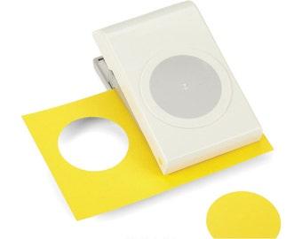 EK Success Large Circle Paper Punch. 2 in Diameter.