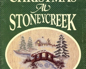 10 Vintage Stoney Creek Cross Stitch Pattern Books 1980's, YOUR CHOICE Angels Babys Christmas & Lots More