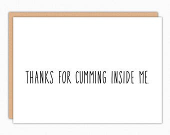 Pregnancy Card For Husband. Pregnancy Announcement To Husband. We're Expecting Greeting Card For Husband. Thanks For Cumming Inside Me 182