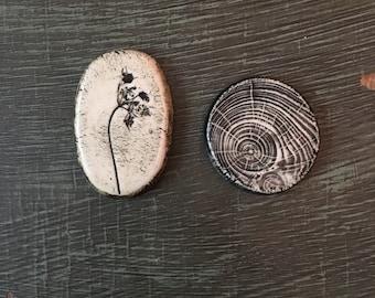 RESERVED for pamelajayne  Ceramic Cabochons