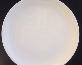 Mid Century Mod Atomic Age German Arzburg White Classic Dinner Plate