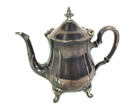 Vintage Silver Plated Coffee Pot